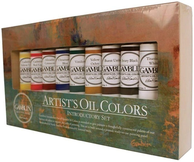 Gamblin Artist's Oil Colors Introductory Set 1