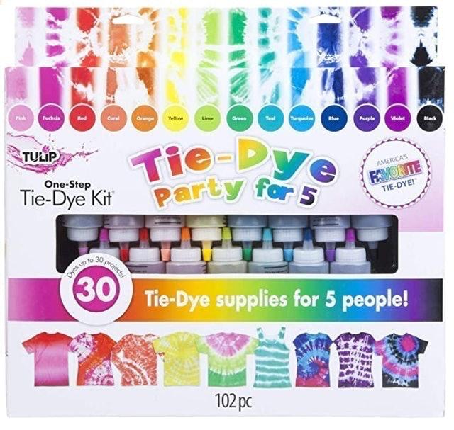Tulip One-Step Tie-Dye Party Kit 1