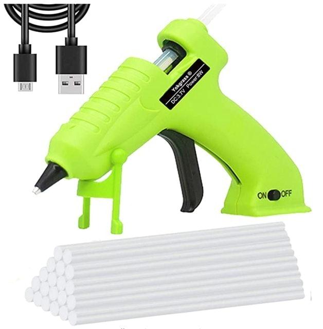 Yokgrass Cordless Hot Glue Gun 1