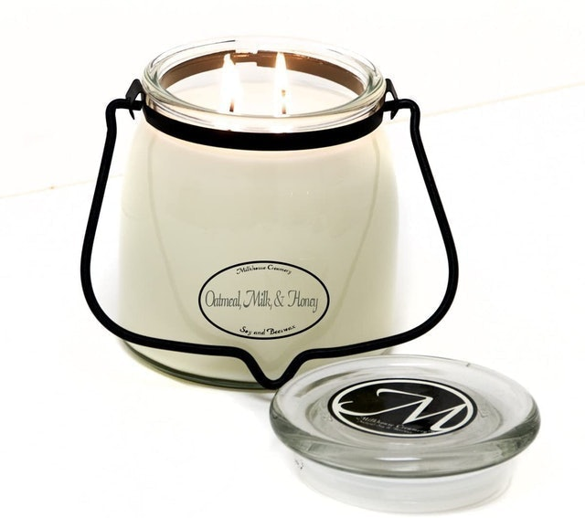 Milkhouse Candle Company Creamery Scented Soy Candle 1