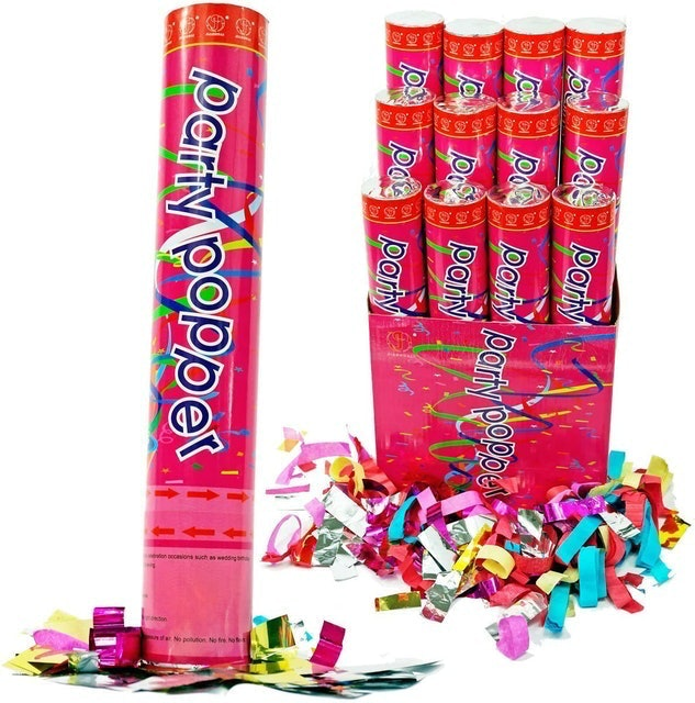 Confetti Cannons Air Compressed Party Poppers 1