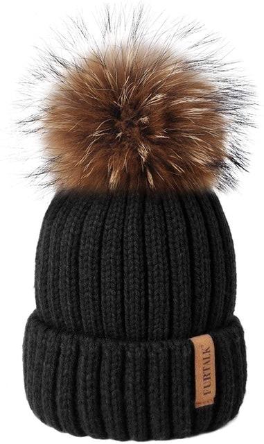 Furtalk Winter Knit Hat 1
