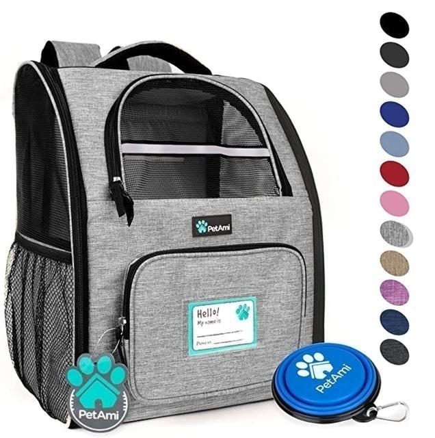 PetAmi Deluxe Pet Carrier Backpack 1