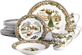 Top 10 Best Christmas Dinnerware Sets in 2020 (Lenox, Spode, and More) 4