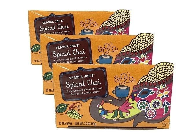 Trader Joe's  Spiced Chai  1