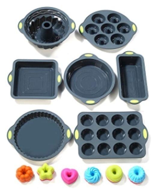 To Encounter 31-Piece Silicone Bakeware Set 1