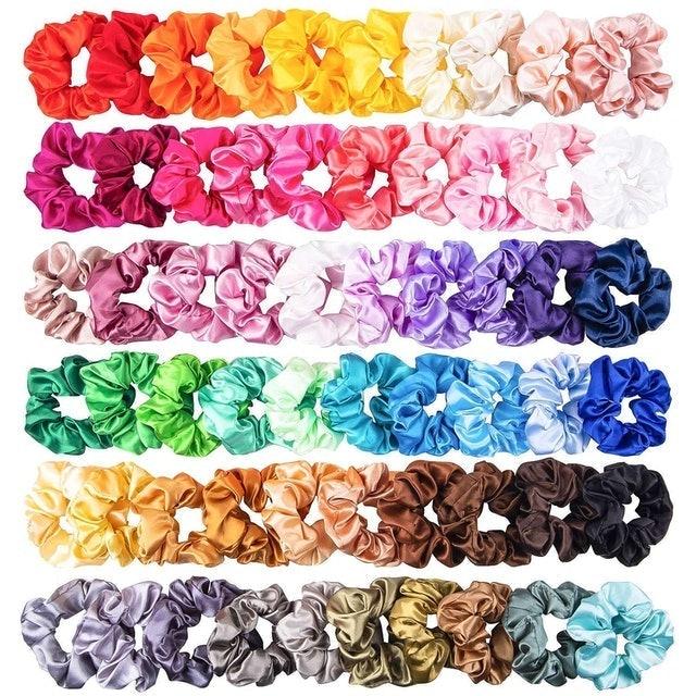 WATINC Silk Satin Hair Scrunchies 1