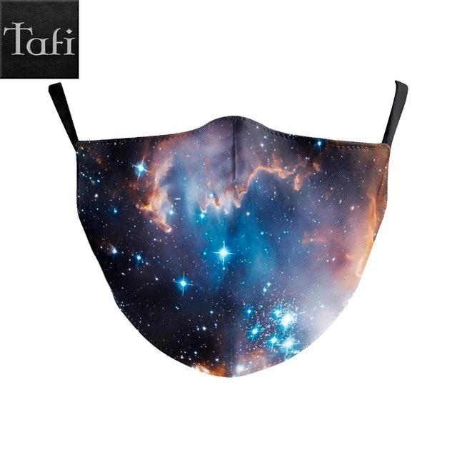 ToyAndFashion Galaxy Space Style Cloth Mask 1