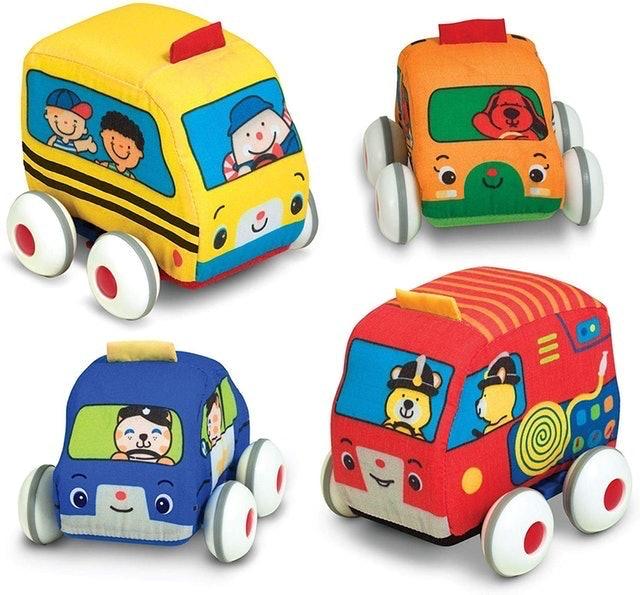 Melissa & Doug Pull-Back Vehicle Set 1