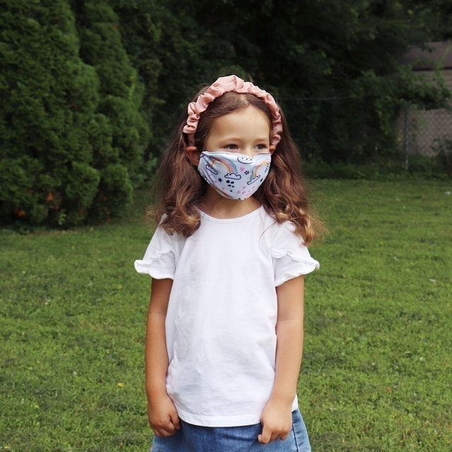arimesusa Kids Face Mask with PM 2.5 Filter 1
