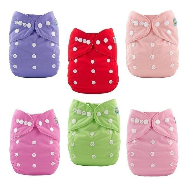 ALVA Baby Cloth Diapers 1