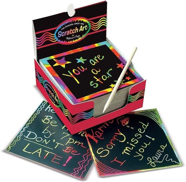 Stocking Stuffers Melissa & Doug Scratch Art Box 1