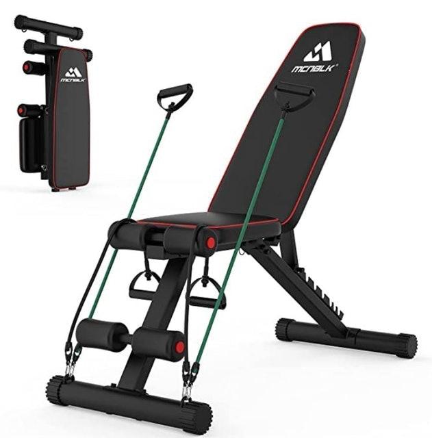 Mcnblk Adjustable Workout Bench 1