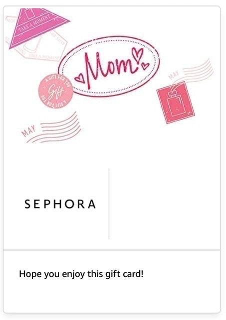 Sephora Gift Cards 1