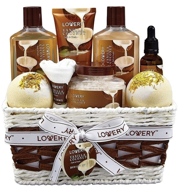 Lovery Vanilla and Coconut Home Spa Set 1