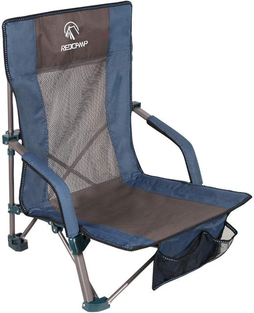 REDCAMP Portable Low Beach Chair 1