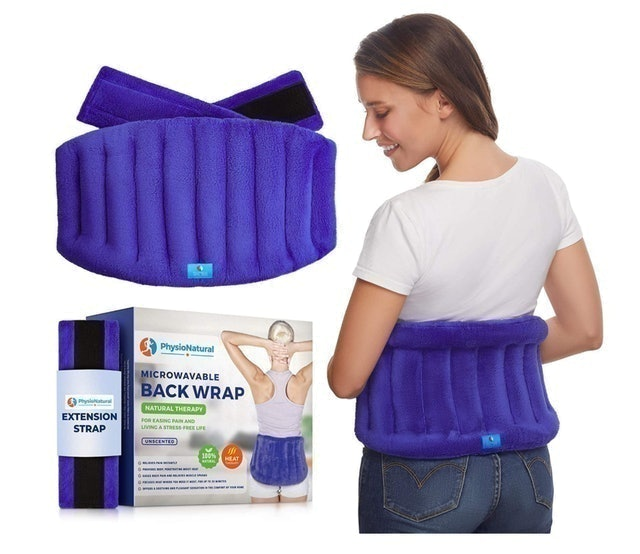 PhysioNatural Microwavable Back Wrap 1