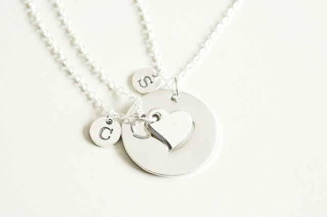Valentine's Day Necklaces You Love You Shop Couple personalised gift 1