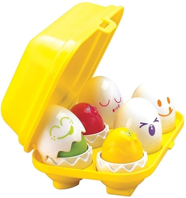 Tomy Toomies Hide & Squeak Eggs 1