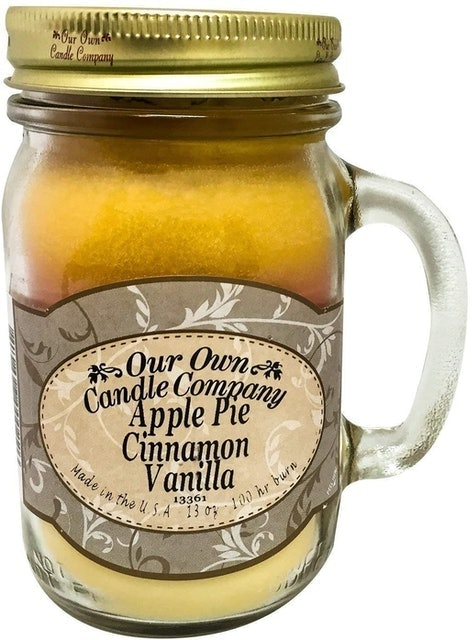 Our Own Candle Company Apple Pie Cinnamon Vanilla Scented Candle 1