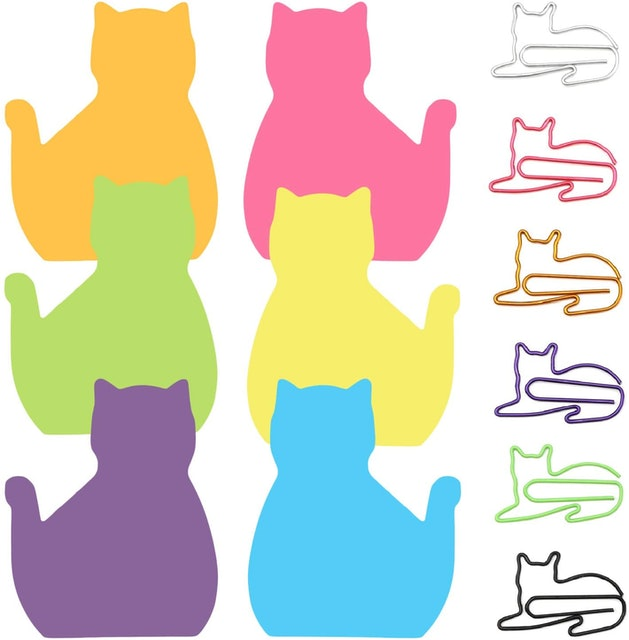 Catpower Paper Clips and Sticky Notes Set 1