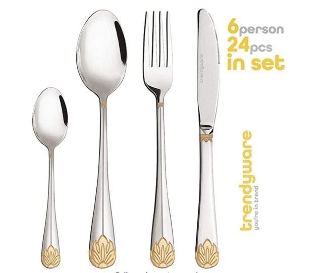 TrendyWare Family Dinnerware Set 1
