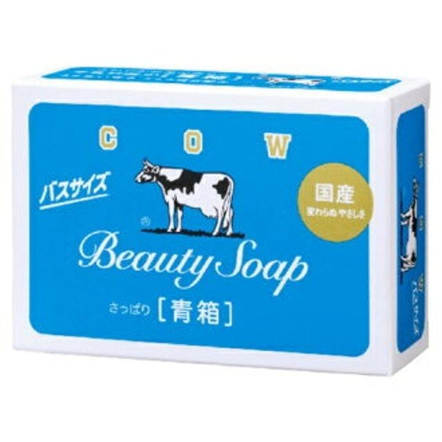 Cow Brand Beauty Soap Blue Box (3 Pieces) 1