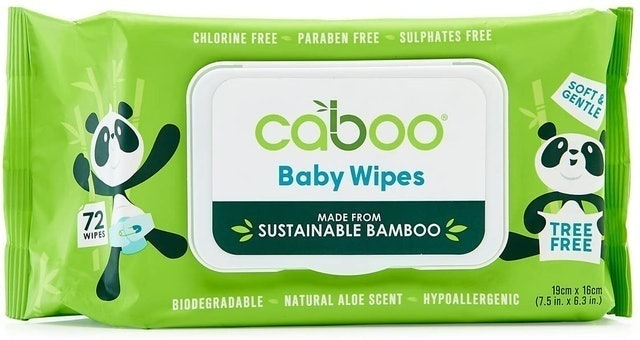 Caboo Baby Wipes 1