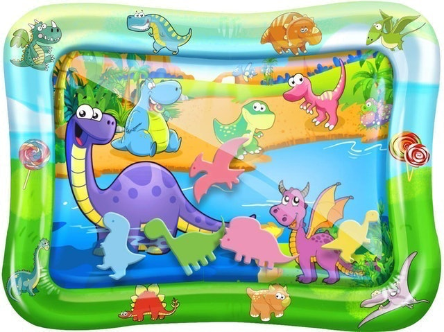 AirExpect Tummy Time Baby Water Play Mat 1