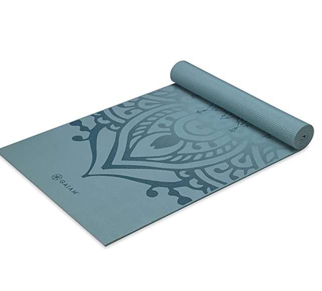 Gaiam Printed Yoga Mat 1