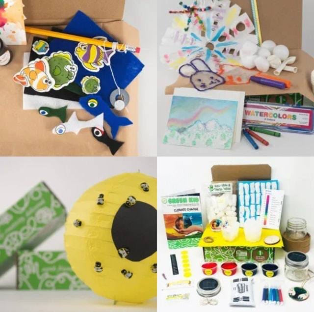 Green Kid Crafts Discovery Box 1