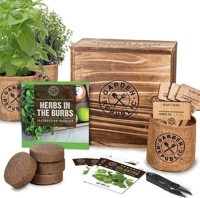 Garden Republic Herbs in the Burbs Starter Kit 1
