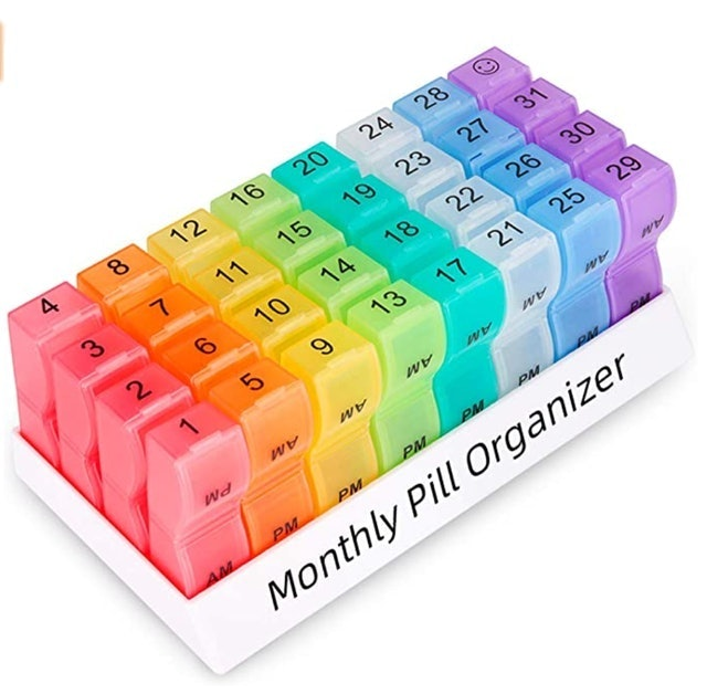 COLORWING Monthly Pill Organizer 1
