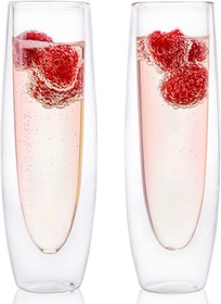 Top 10 Best Champagne Glasses in 2020 (Riedel, Waterford, and More) 1