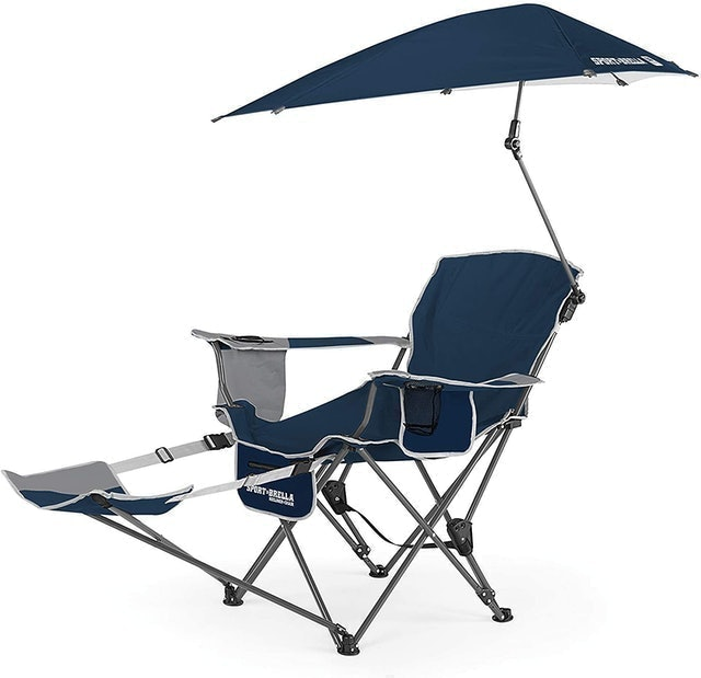 Sport-Brella 3-Position Recliner Chair with Removable Umbrella 1