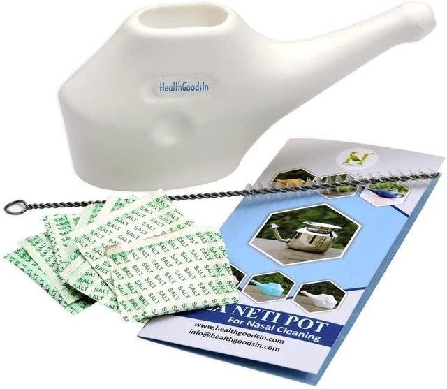 HealthGoodsIn Traveler's Neti Pot 1