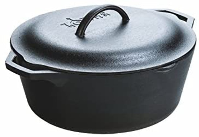 Lodge Dutch Oven With Loop Handles 1