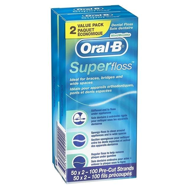 Oral-B Super Floss 1