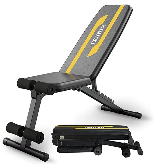 Ceayun Foldable Workout Bench 1