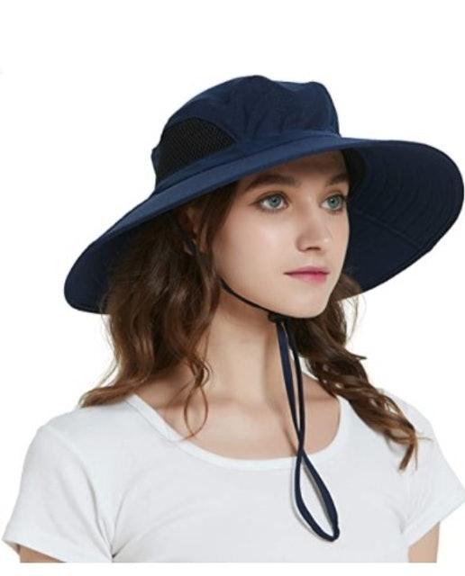 Einskey Waterproof Wide Brim Bucket Hat 1
