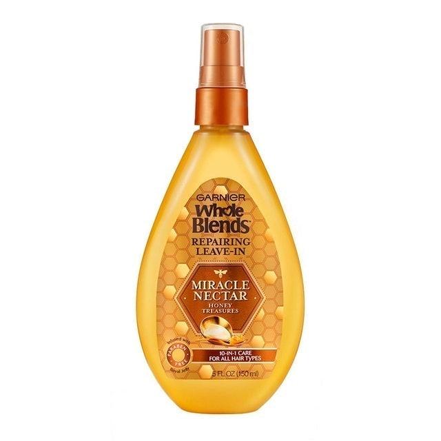 Garnier Whole Blends Repairing Leave-In Miracle Nectar Honey Treasures 1