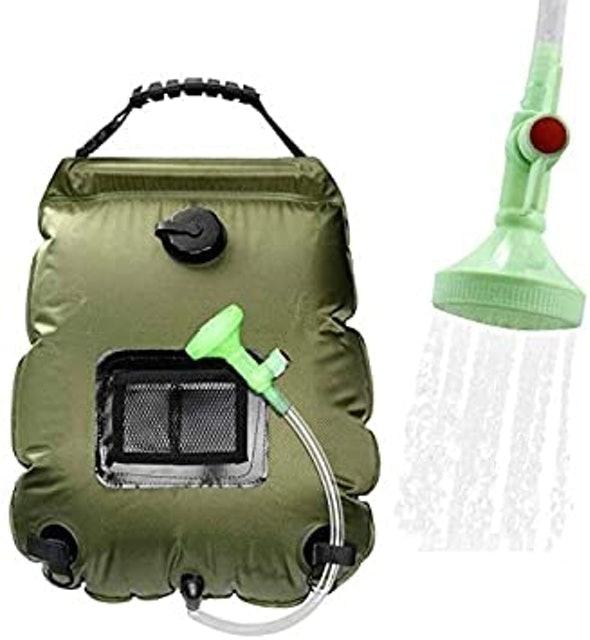 WEIYII Outdoor Camping Solar Shower Bag 1
