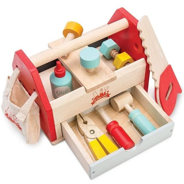 Le Toy Van Educational Wooden Tool Box Set 1