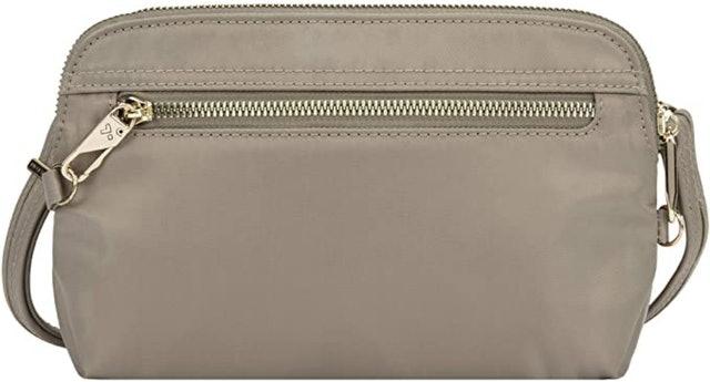 Trevlon Anti-Theft Tailored Convertible Crossbody Bag 1