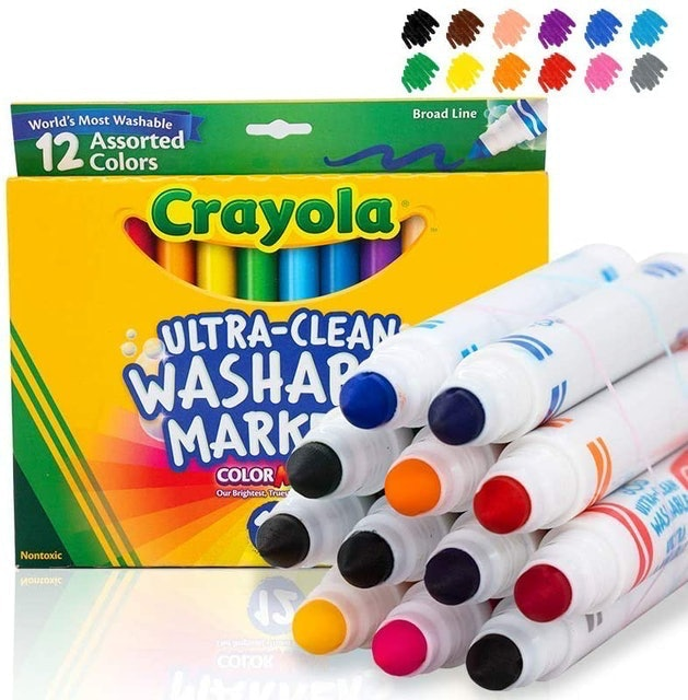 Crayola Ultra Clean Washable Markers 1