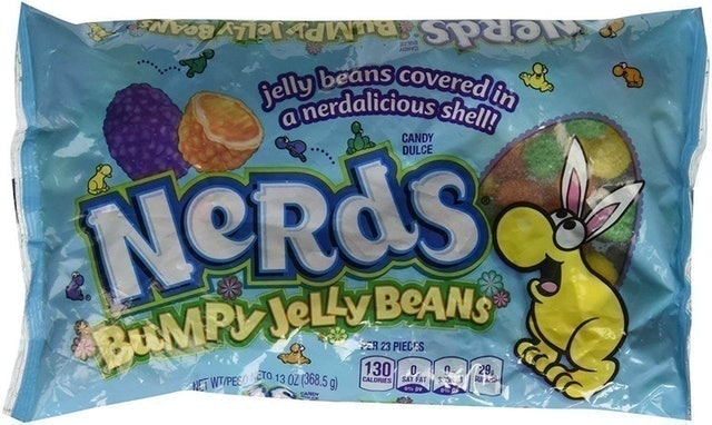 Nerds Covered Chewy & Bumpy Jelly Beans 1