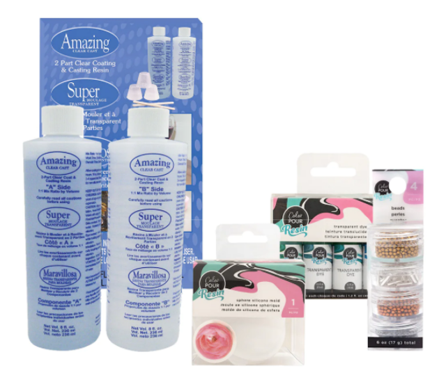 Michaels Build Your Own Resin Crafting Bundle 1