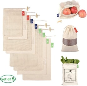 Top 10 Best Reusable Produce Bags in 2021 (Earthwise, Small Fish, and More) 4