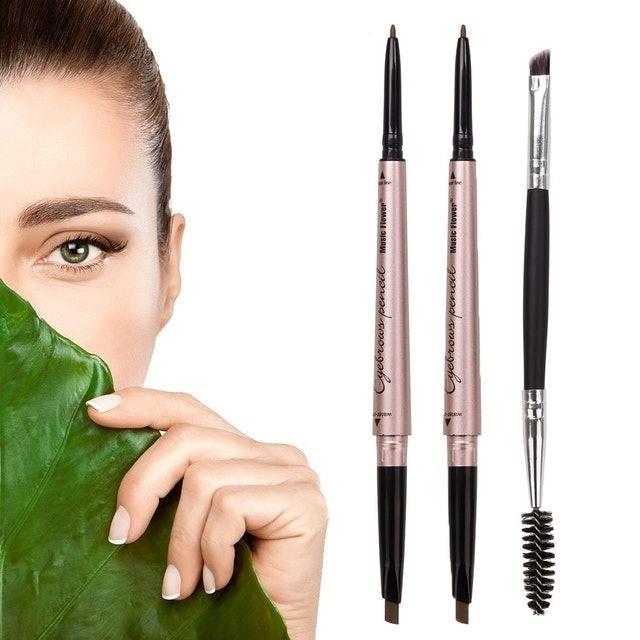 HeyBeauty Waterproof Eyebrow Makeup with Dual Ends 1