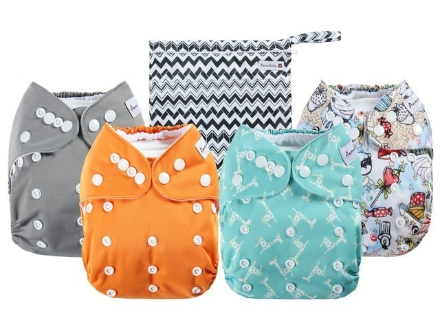 Anmababy Pocket Cloth Diapers 1